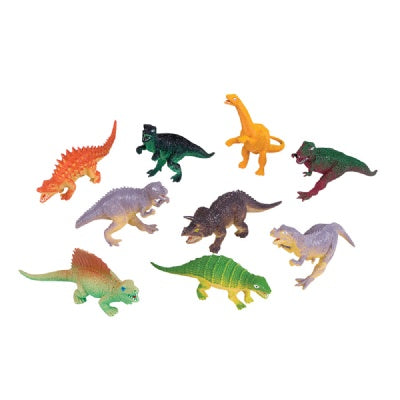 5.5-inch-6.5-inch Dinosaurs (Bulk Pack of 12 Dinos)