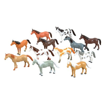 Large 4-inch Horse (Bulk Pack of 12 Horses)