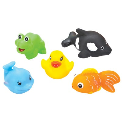 3-inch Squirt Animals (Bulk Pack of 12 Pieces)