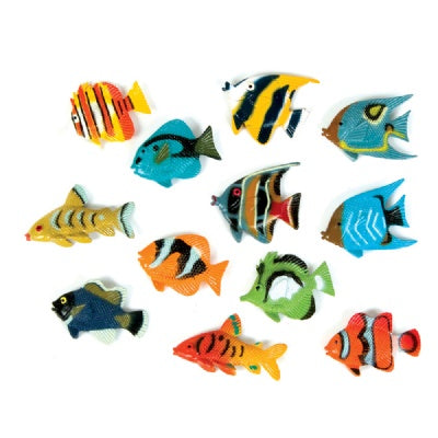 1.5-inch Tropical Fish (Bulk Pack of 12 Fish)