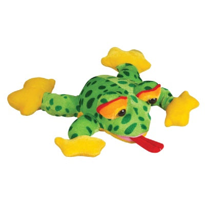 10-Inch Plush Frog (Bulk Pack of 12 Frogs)