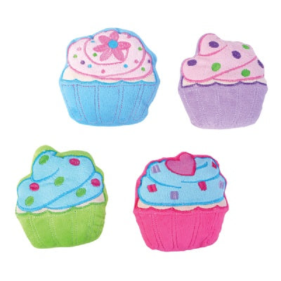 5-Inch Cupcake Plush (Bulk Pack of 12 Cupcakes)