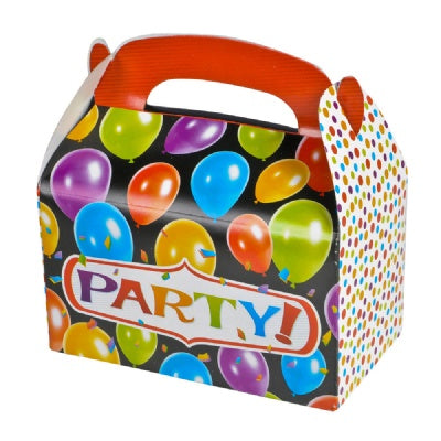 6.25-inch Party Treat Box  (Bulk Pack of 12 Boxes)