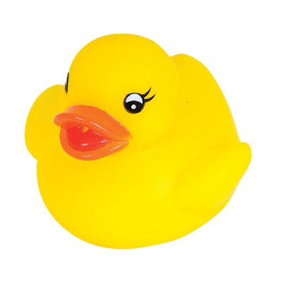 2-inch Rubber Baby Ducky (1 Duck)