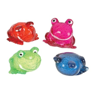 2.50-inch Squeeze Sticky Frog (Bulk Pack of 12 Frogs)