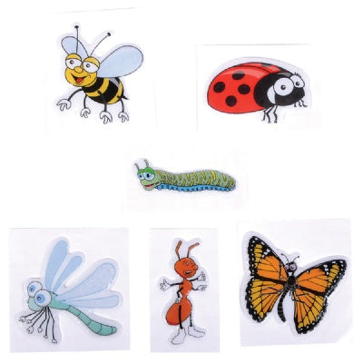 1.5-inch Puffy Bug Stickers (1 Sticker)