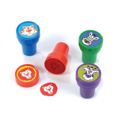 1.38-inch Zoo Animal Stamper (Bulk Pack of 24 Stamps)