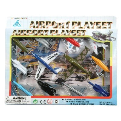 12-Piece Aircraft Set