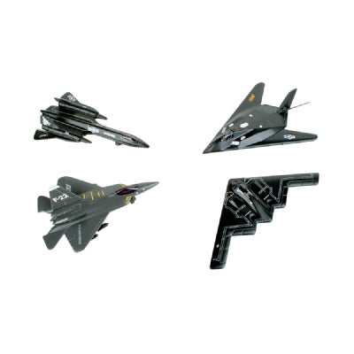 5-Inch Diecast Pullback Stealth Plane