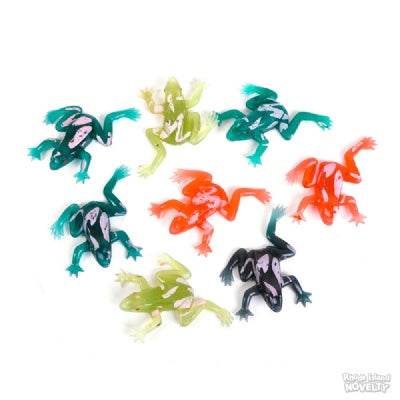 12 Rain Forest Frogs (3-inch)