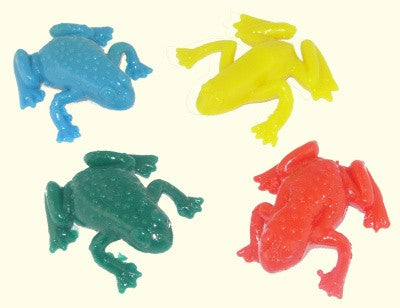 Bulk Small Stretchy Frog (1 Frog)
