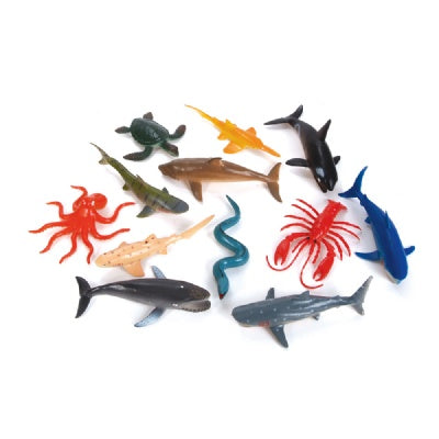 Large Sealife Animals (Bulk Pack of 12 Animals)