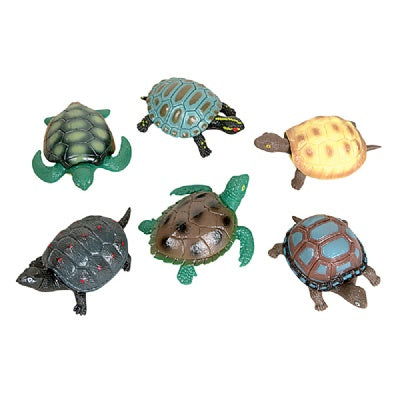 Large 4.5-inch Stretch Turtle (Bulk Pack of 12 Turtles)