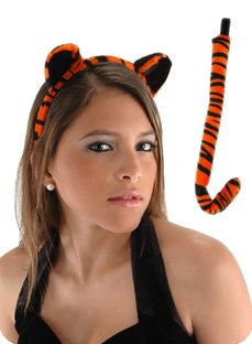 Tiger Ears And Tail