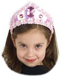 Jewelled Pink Princess Tiara