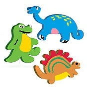 Dynamic Dinosaur Pencil Toppers (1 Topper)