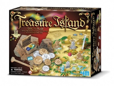 Dig and Play Treasure Island