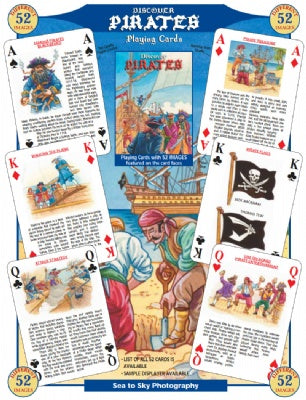 Discover Pirates Playing Cards