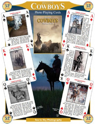 Discover Cowboys Playing Cards