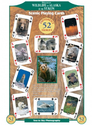 Discover Wildlife of Alaska Playing Cards