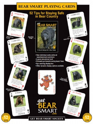 Bear Smart Playing Cards