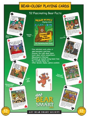 Bear-ology Playing Cards