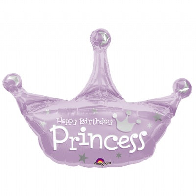 Princess Super Shape Metallic Balloon