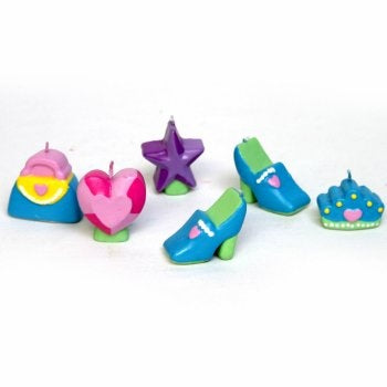 Princess Mini Molded Candles