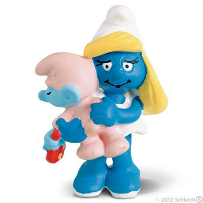 Smurfette with Baby