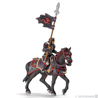 Dragon Knight on Horse with Lance