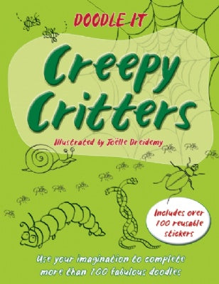 Doodle It: Creepy Critters