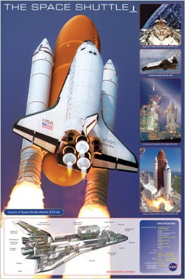 (E28) The Space Shuttle Poster