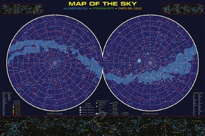(E94) Map of the Sky Poster
