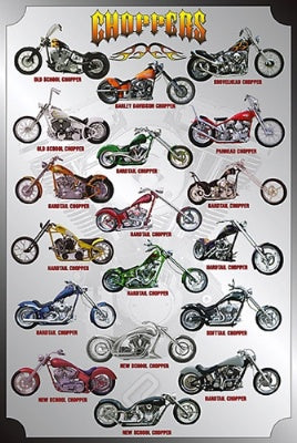 (E98) Choppers Poster