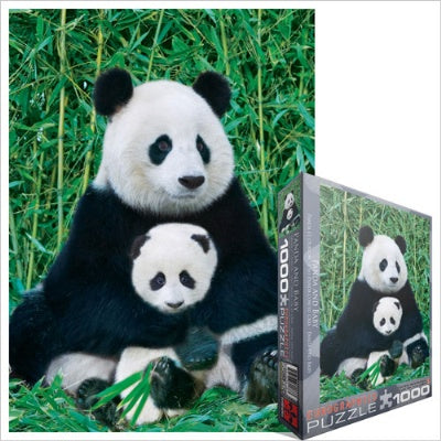 Panda and Baby Puzzle