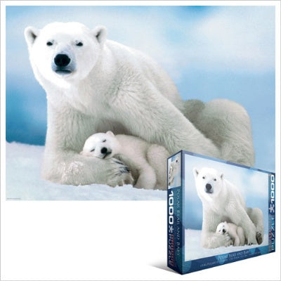 Polar Bear and Baby Puzzle