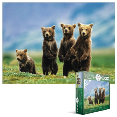 Bear Cubs Standing Puzzle