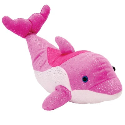 "12"" Happy Tail Bottlenose Dophin Pink"