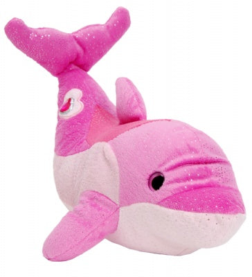 "16"" Happy Tail Bottlenose Dophin Pink"