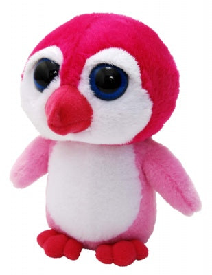 "7"" Bright Eyes Pink Penguin"