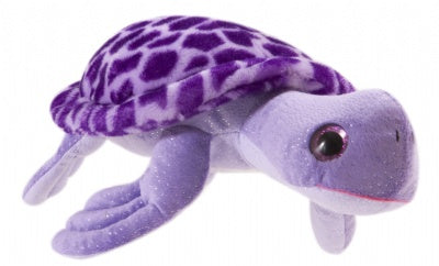 "12"" Posh Plush Purple Sea Turtle"