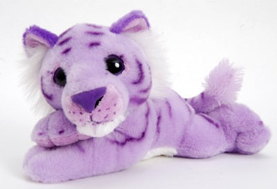 "12"" Posh Plush Purple Tiger"
