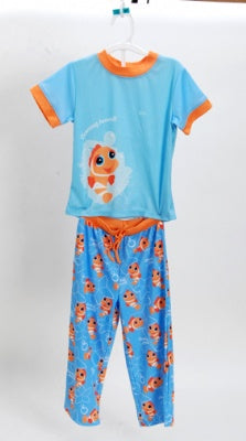 Clowing Around Orange 2 Piece Pajama Set Size 2T