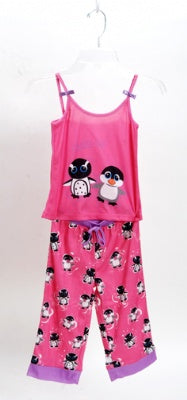 Chillin' Out Pink 2 Piece Pajama Set Size 3T