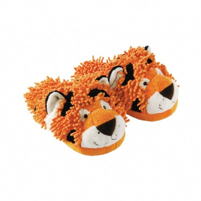 Tiger Fuzzy Friends Adult Slippers