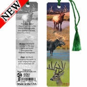 Antlers Bookmark