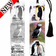 Penguins and Puffins Bookmark