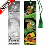 Rainforest Frogs Bookmark