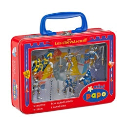 Papo Mini Knights and Horses Blue