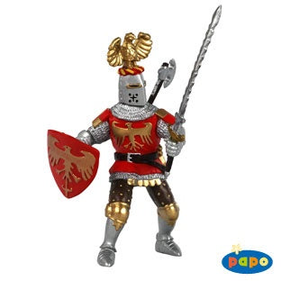 Papo Red Crested Knight